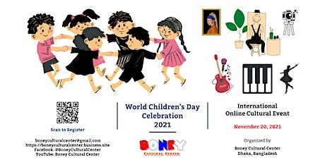 World Children's Day Celebration 2021 tickets