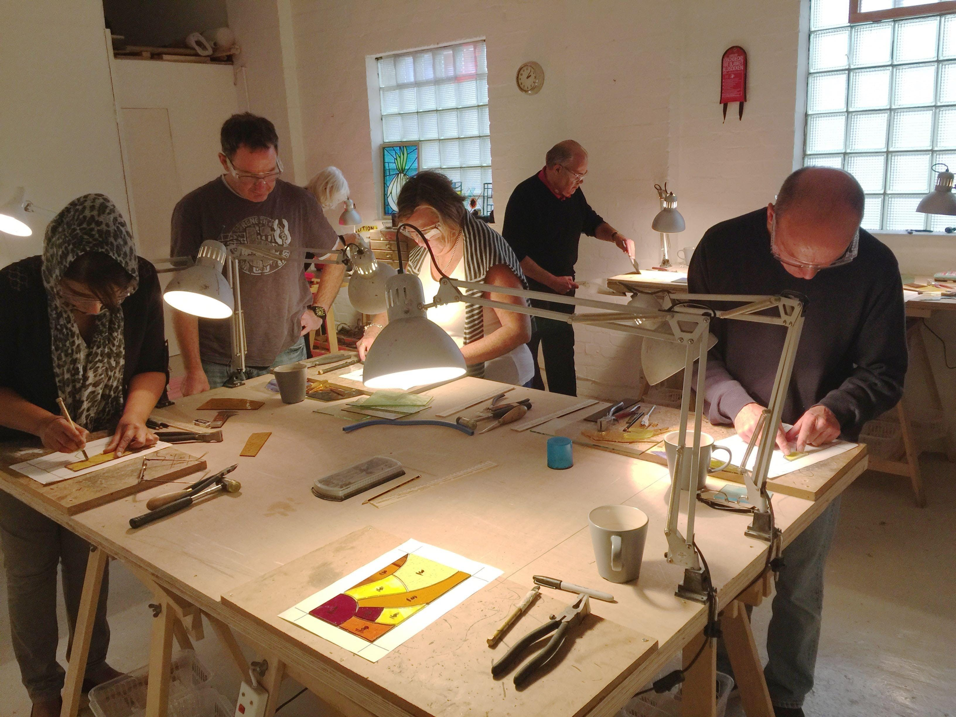 Voucher for One Day Stained Glass Workshop for Beginners