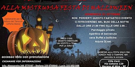 Mostruosa festa di Halloween biglietti