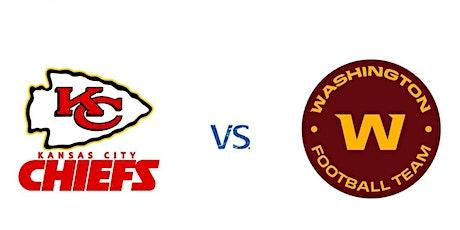 Kansas City Chiefs vs Washington Football Team   NFL Madrid Bar entradas