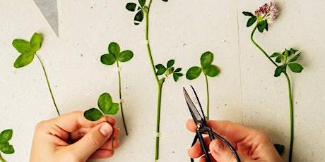 Un herbier à soi - Atelier poétique plantes & santé billets