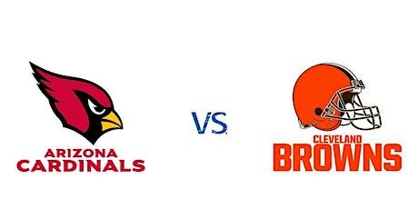 Arizona Cardinals vs Cleveland Browns   NFL Madrid Bar entradas