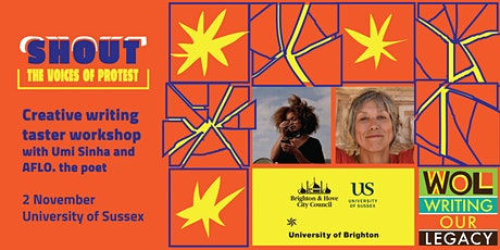 """""""Shout: The Voices of Protest"""" Creative Writing Workshop tickets"""