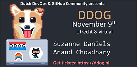 The eighth Dutch DevOps & GitHub Community Meeting tickets