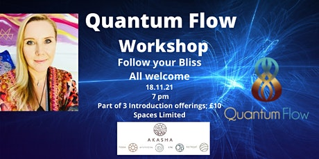 Quantum Flow Workshop Follow your Bliss tickets