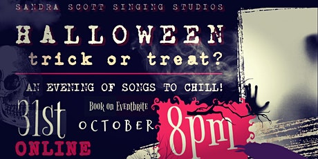 Halloween- An Evening of Songs & Stories to Chill! tickets