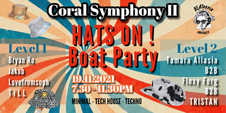 Beathoven pres. Coral Symphony II Hats On! Boat Party tickets