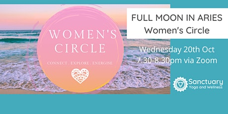 Women's Circle: Aries Full Moon tickets