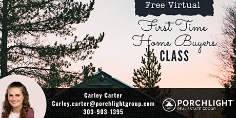 Virtual First Time Home Buyers Class tickets