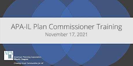 2021 Plan Commissioner Training tickets