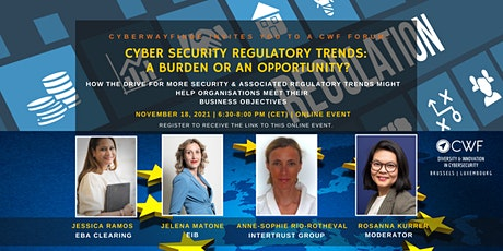 Cyber Security Regulatory Trends: A Burden or an Opportunity? tickets