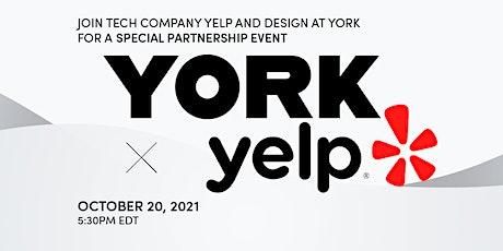 Design at York - Yelp Partnership tickets