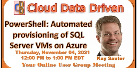 PowerShell: Automated provisioning of SQL Server VMs on Azure biglietti