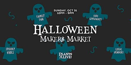Halloween Makers Market tickets