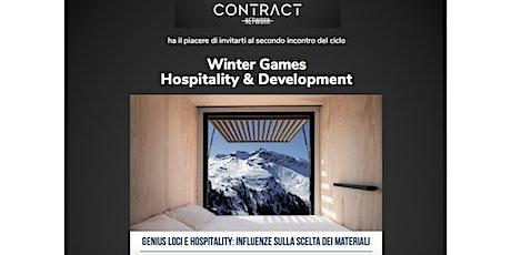 "WINTER GAMES Hospitality & Development: 2) ""Genius Loci e Hospitality"" tickets"