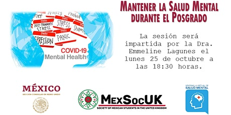 Sesión de salud mental MexSocUK-EmbamexUK entradas