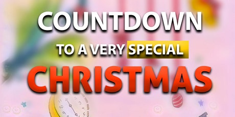 """BOOK LAUNCH--- """"COUNTDOWN TO A VERY SPECIAL CHRISTMAS"""" tickets"""