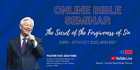Online Bible Conference with World Renown Korean Pastor tickets