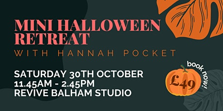 Mini Halloween Retreat tickets