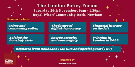 London Policy Forum 2021 tickets