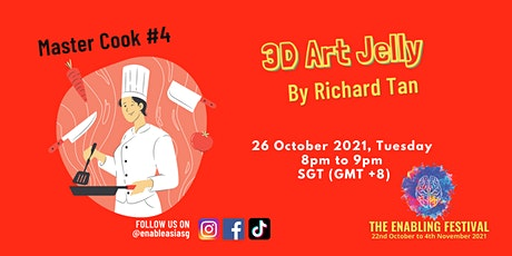 Master Cook #4 - 3D Art Jelly tickets