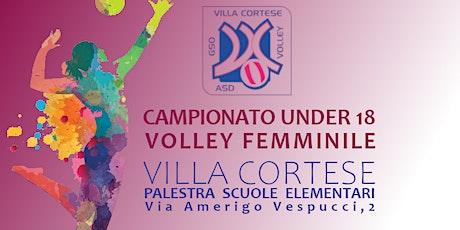 GSO Villa Cortese Volley vs ASD PALLAVOLO RHO MAPI ANTINCENDIO biglietti