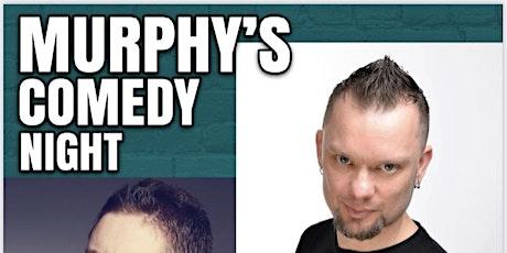 Murphy's Distillery & Bar Comedy Night - 4th November tickets