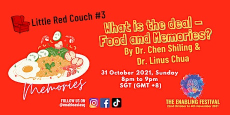 Little Red Couch #3: What is the deal - Food and Memories? tickets