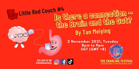Little Red Couch #4: Is there a connection - the Brain and the Gut? tickets
