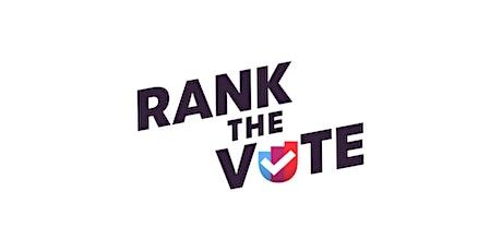 Ranked Choice Voting Rising - Massachusetts & USA tickets