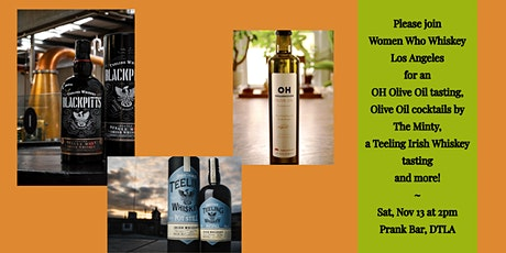 OH Olive Oil & Teeling Whiskey Tasting w/ Cockails by The Minty tickets