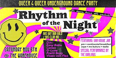 RHYtHM of the NiGHT // throwback night ~ 90s club kid & 80s gay bar tickets