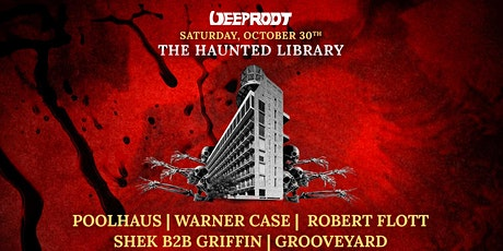 HALLOWEEN PARTY The Haunted Library At Williamsburg Hotel [10/30] tickets