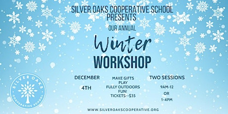 Kids Winter Workshop 2021--FULLY OUTDOORS tickets