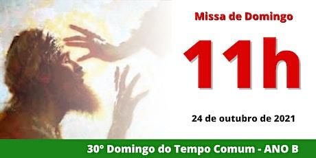 24/10 Missa 11h ingressos