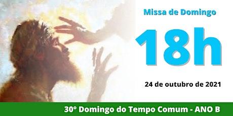 24/10 Missa 18h ingressos