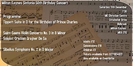 Milton Keynes Sinfonia  50th Anniversary Concert tickets