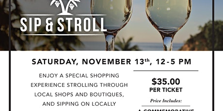 Capitola Sip and Stroll tickets