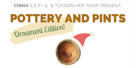 Pottery & Pints (Ornaments Edition!) tickets