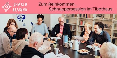 """""""Gut, dass Du da warst..."""" — Schnuppersession@Tibethaus Frankfurt tickets"""
