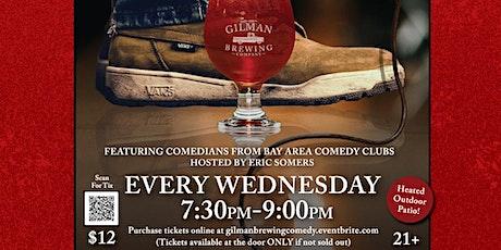 Comedy Night at Gilman Brewing - Pleasanton tickets
