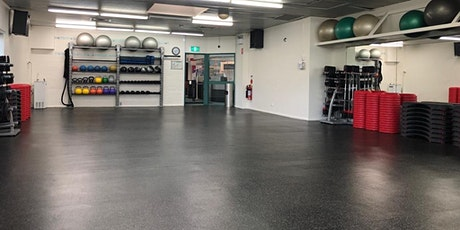 Canterbury CBfit Group Fitness Classes - Monday 25 October 2021 tickets