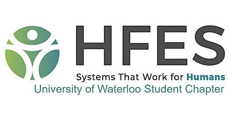 UW HFES Student Chapter: Professor Lecture Series - Dr. Daniel Smilek Tickets