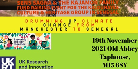 Drumming up Climate Change fromManchester to Senegal tickets