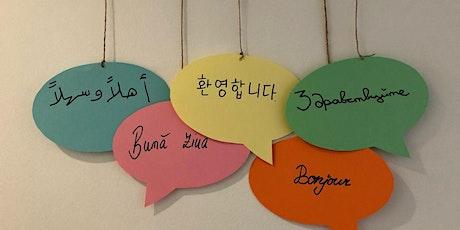 Interkulturelle Woche: Workshops zur Kultur und Sprache - Teilnahme frei Tickets