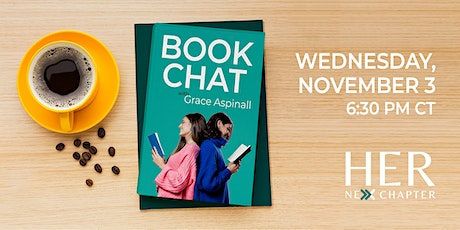 Read any good books lately? Come share your favorites at Book Chat! tickets