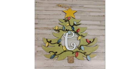 Two Trees DIY Class:  Personalized Christmas Tree Door Hanger tickets
