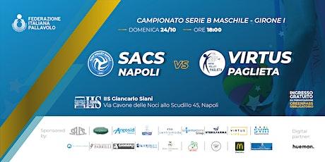 SACS Volley Napoli - VIRTUS Volley Paglieta biglietti