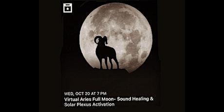 VIRTUAL Aries Full Moon Ceremony tickets