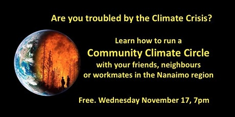 Community Climate Circles - Learning tickets